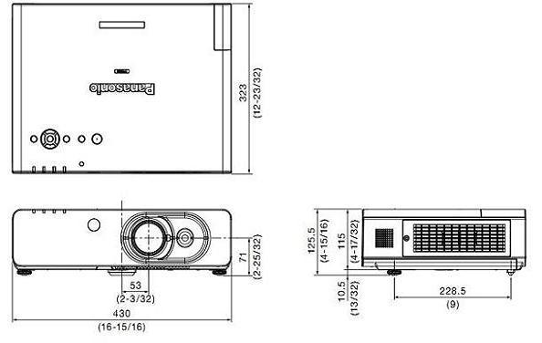 Projektor Panasonic PT-FW430